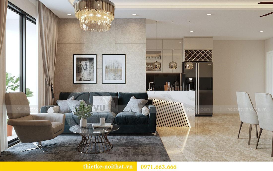 Thiết kế thi công nội thất chung cư Dcapitale tòa C1 căn 08 - anh Thành 1
