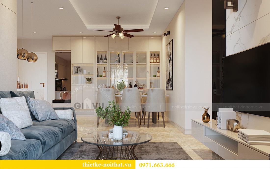 Thiết kế thi công nội thất chung cư Dcapitale tòa C1 căn 08 - anh Thành 2