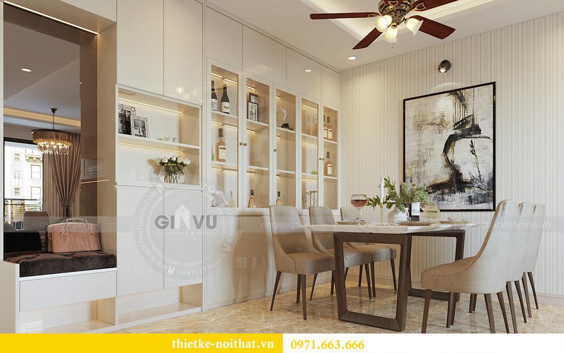 Thiết kế thi công nội thất chung cư Dcapitale tòa C1 căn 08 - anh Thành 3