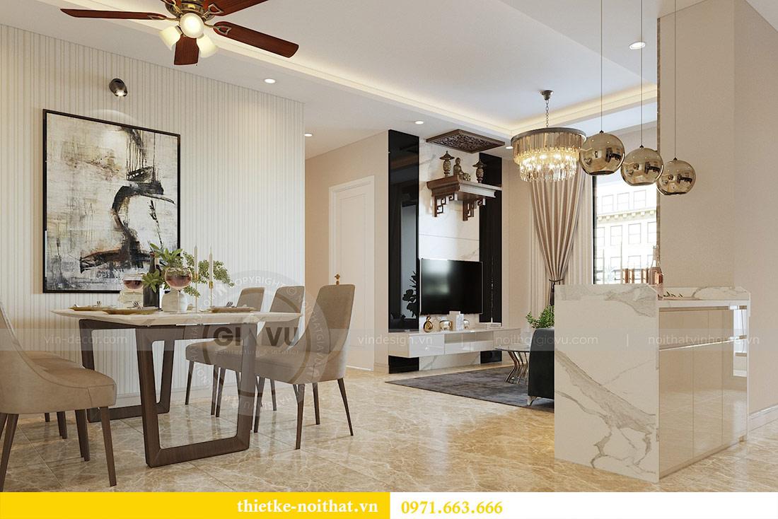Thiết kế thi công nội thất chung cư Dcapitale tòa C1 căn 08 - anh Thành 4