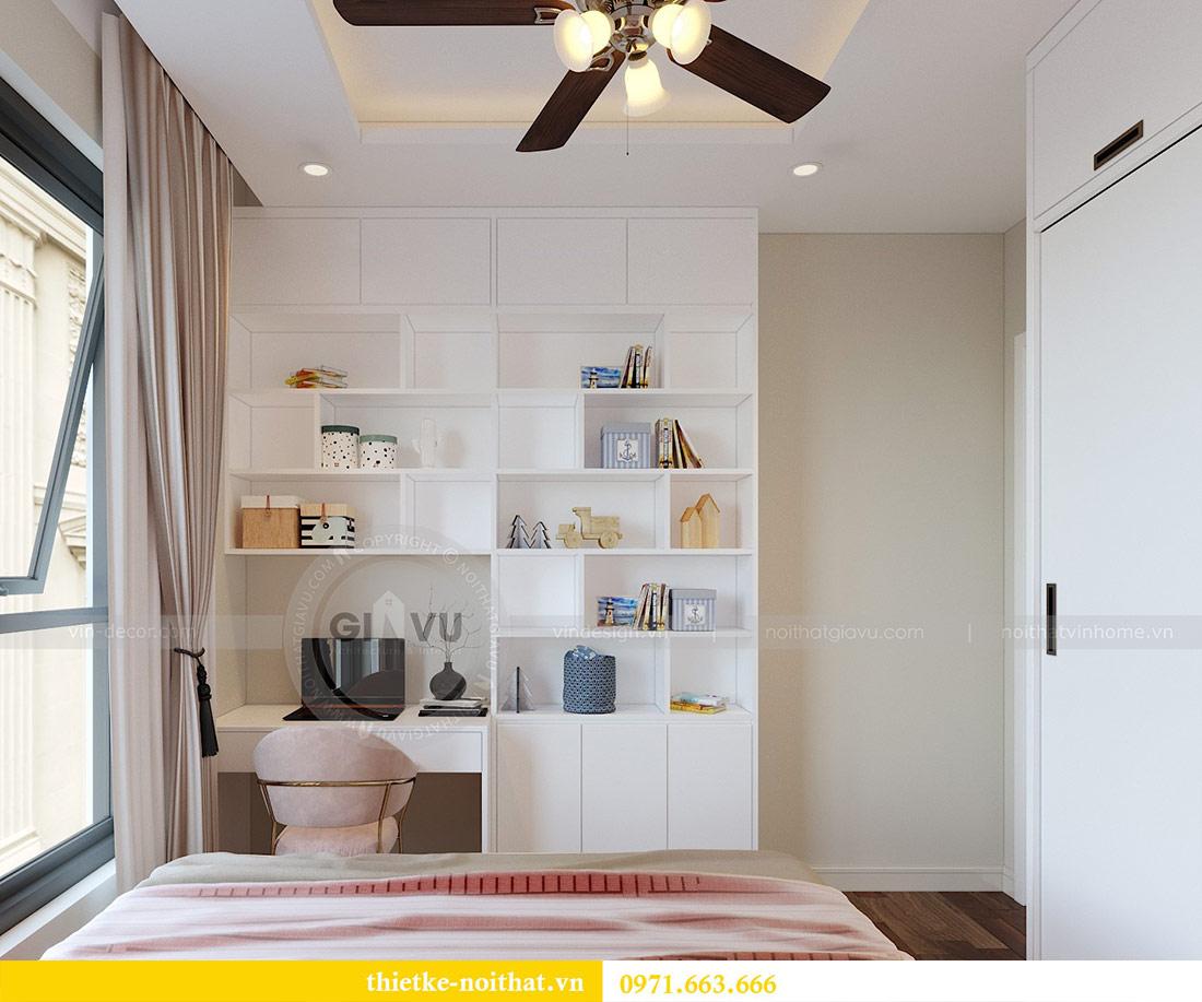 Thiết kế thi công nội thất chung cư Dcapitale tòa C1 căn 08 - anh Thành 9
