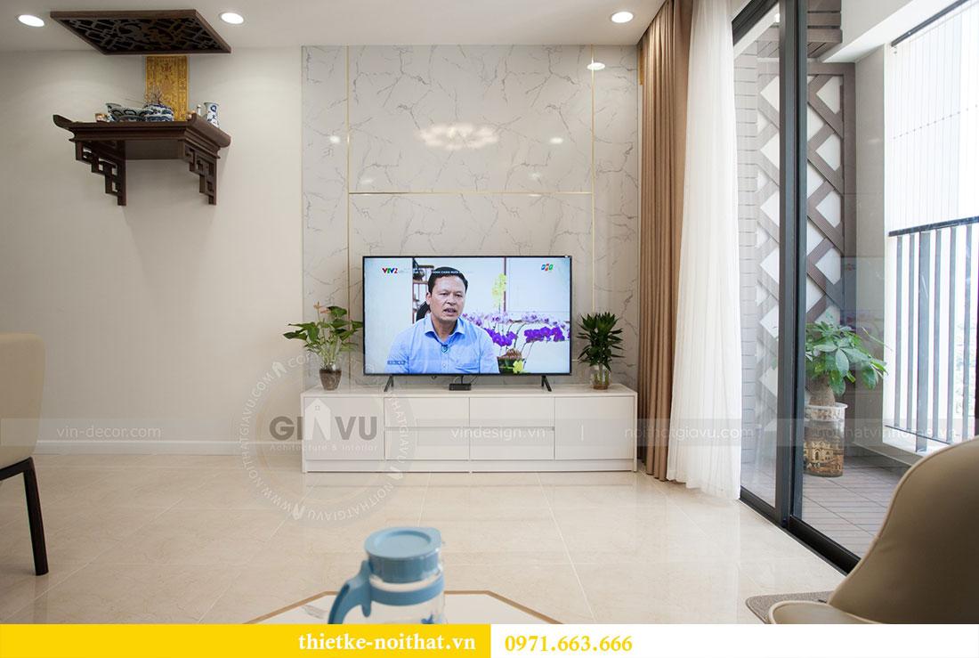Ảnh chụp hoàn thiện nội thất căn hộ 03 tòa C1 Vinhomes Dcapitale 3