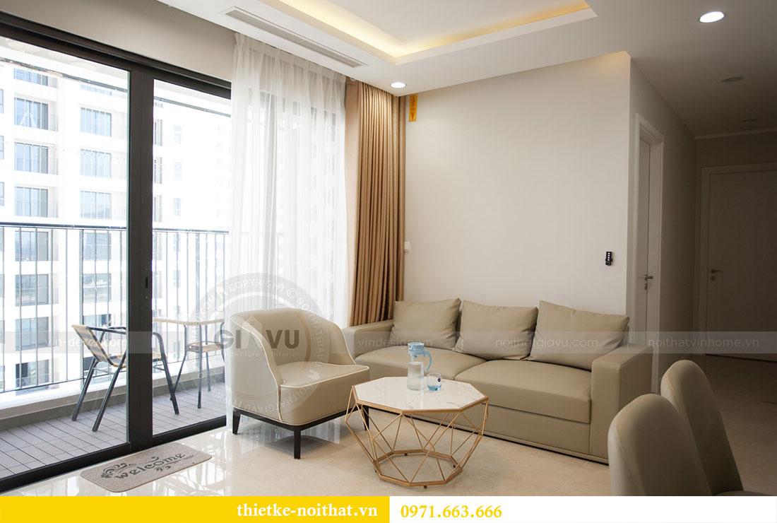 Ảnh chụp hoàn thiện nội thất căn hộ 03 tòa C1 Vinhomes Dcapitale 4