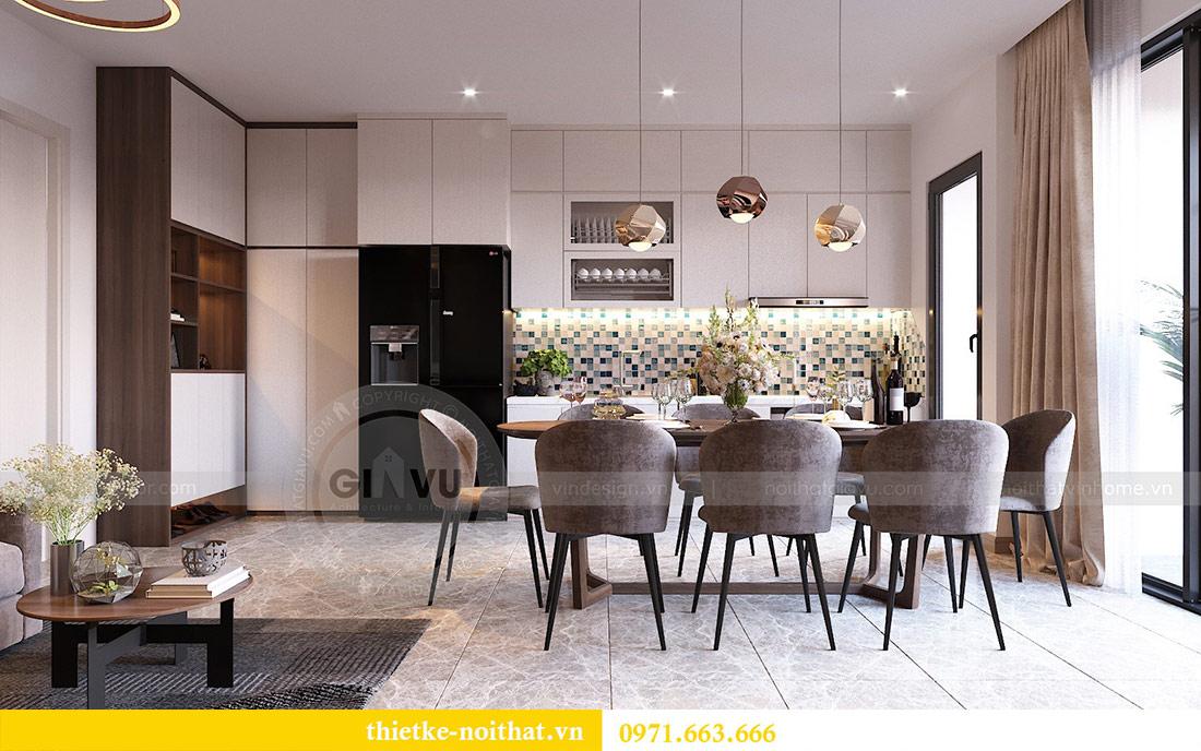 Thiết kế nội thất căn hộ 66m2 tại Vinhomes Dcapitale - chị An 1