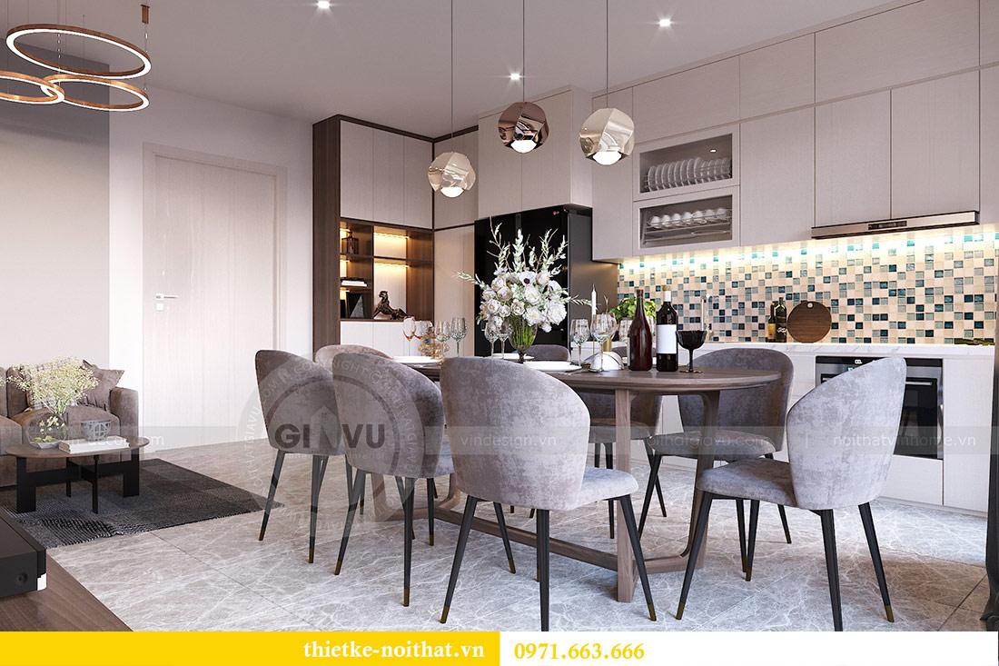 Thiết kế nội thất căn hộ 66m2 tại Vinhomes Dcapitale - chị An 2