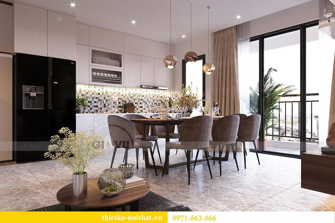 Thiết kế nội thất căn hộ 66m2 tại Vinhomes Dcapitale - chị An 3