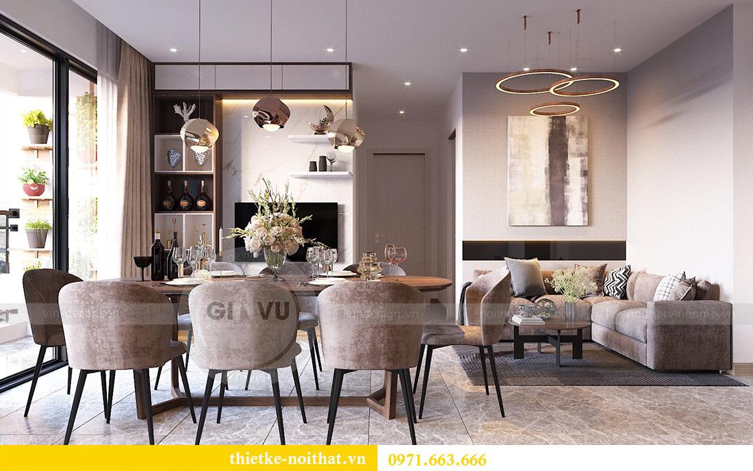 Thiết kế nội thất căn hộ 66m2 tại Vinhomes Dcapitale - chị An 5