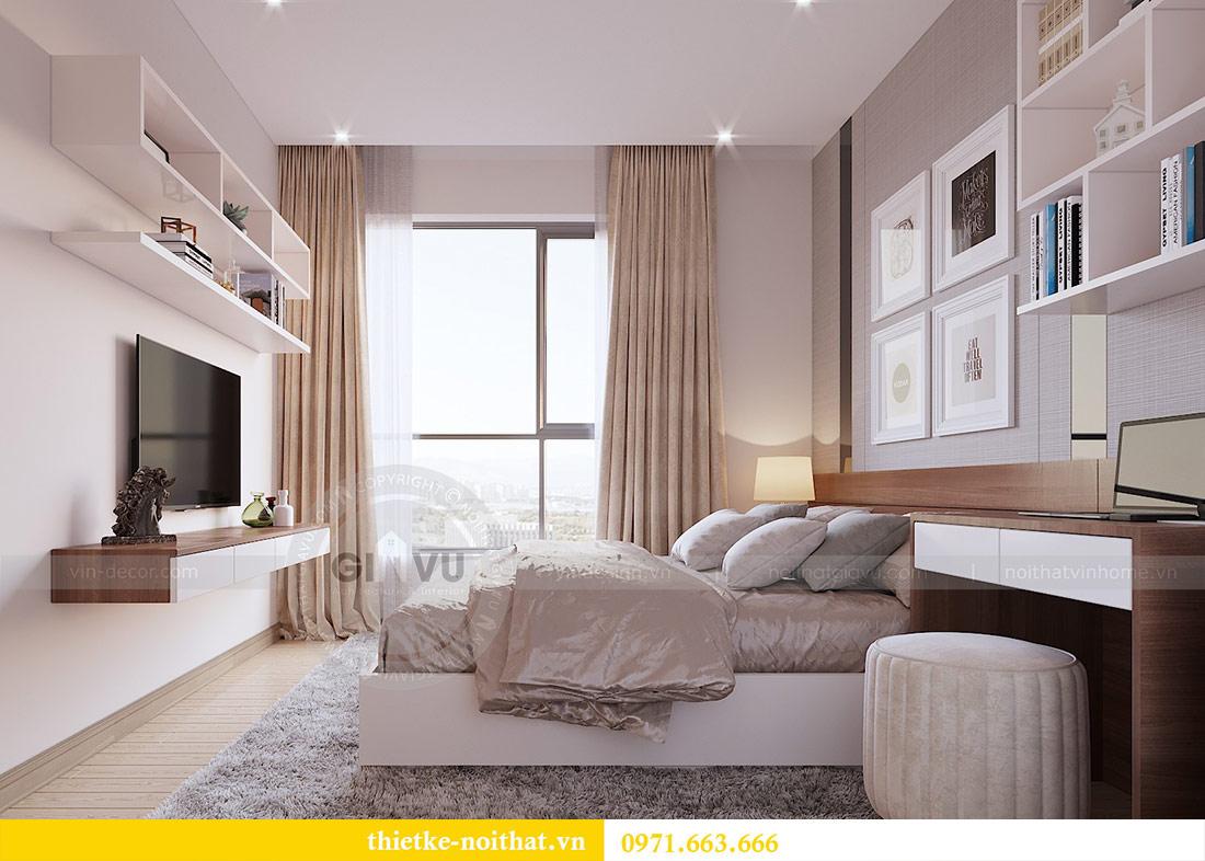 Thiết kế nội thất căn hộ 66m2 tại Vinhomes Dcapitale - chị An 9