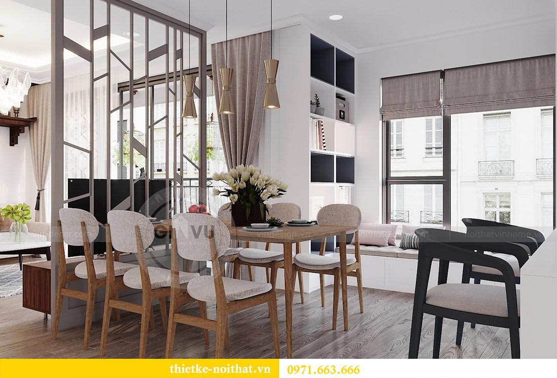 Thiết kế nội thất chung cư 2 phòng ngủ tòa C1 căn 03 - cô Lan Quế 5