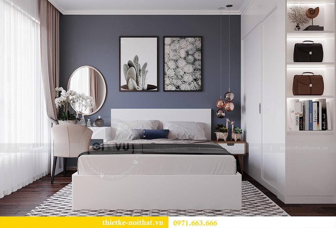 Thiết kế nội thất chung cư 2 phòng ngủ tòa C1 căn 03 - cô Lan Quế 6