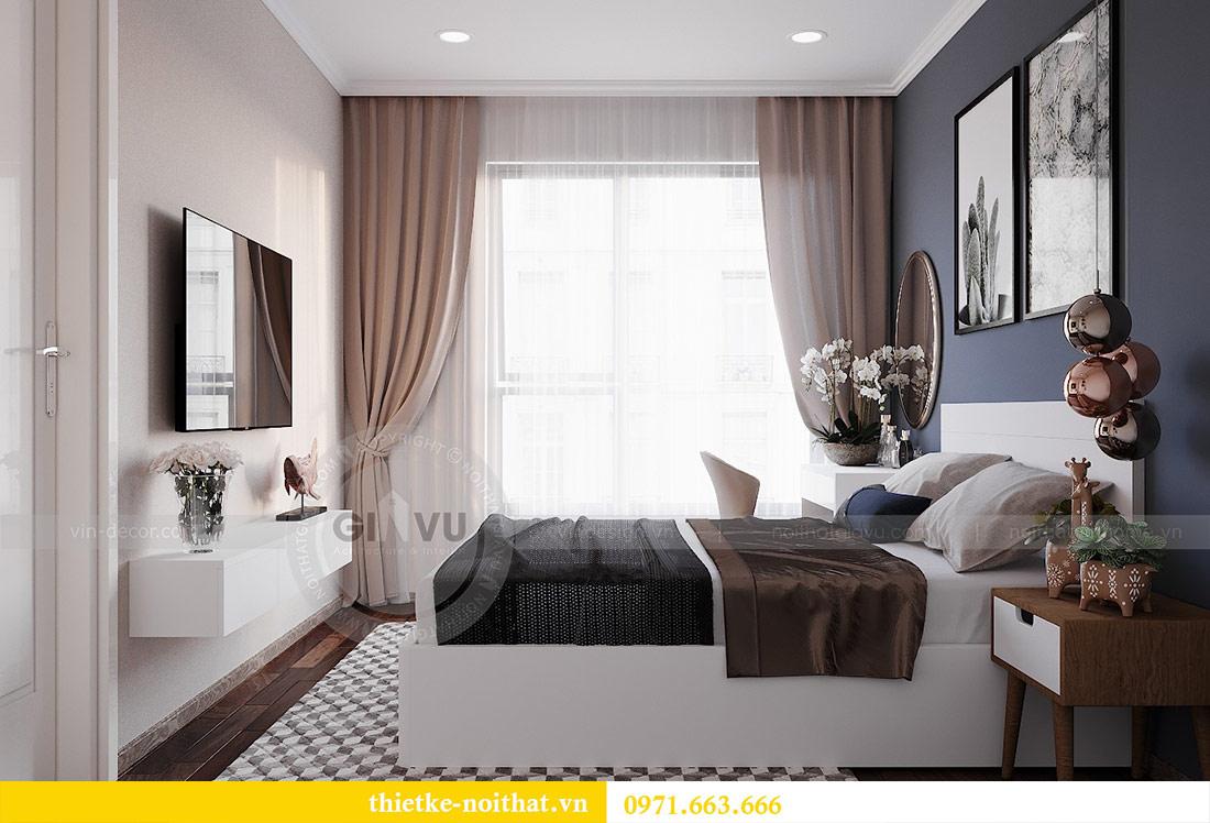 Thiết kế nội thất chung cư 2 phòng ngủ tòa C1 căn 03 - cô Lan Quế 7