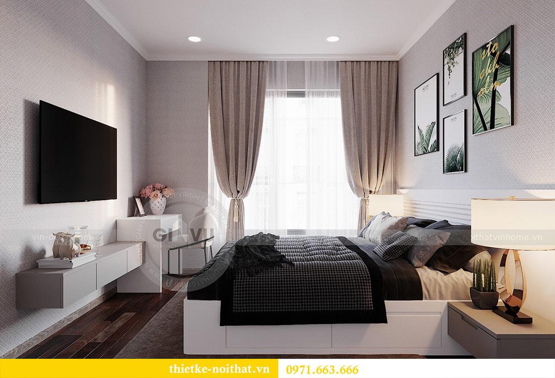 Thiết kế nội thất chung cư 2 phòng ngủ tòa C1 căn 03 - cô Lan Quế 9