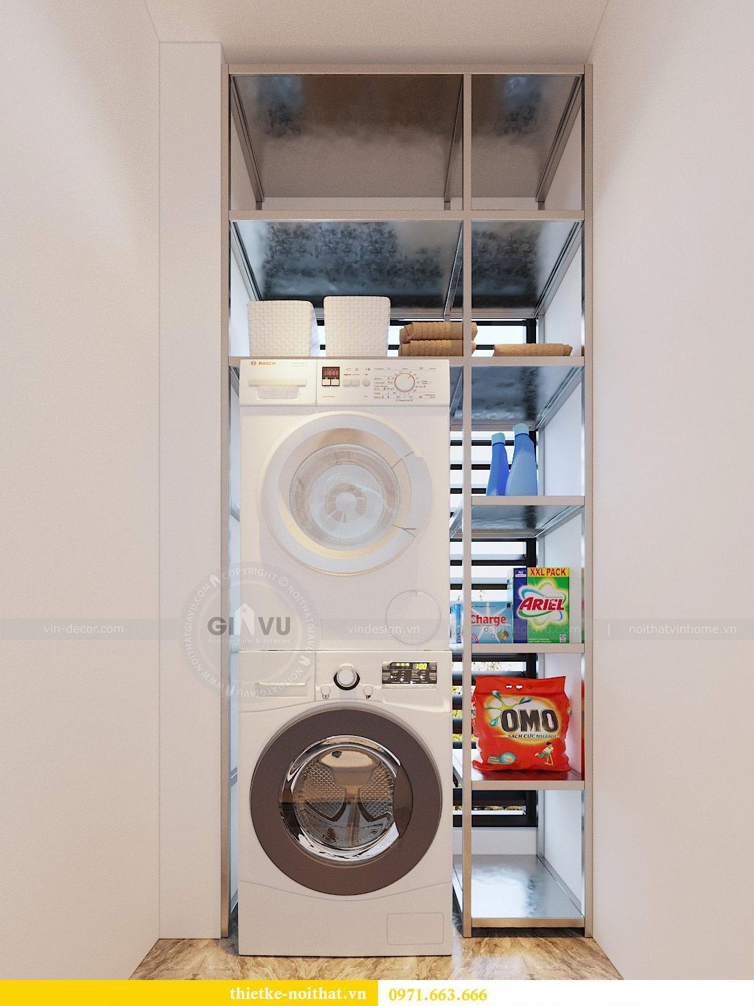 Thiết kế nội thất chung cư 74m2 tòa M3 căn 01 Vinhomes Metropolis 4