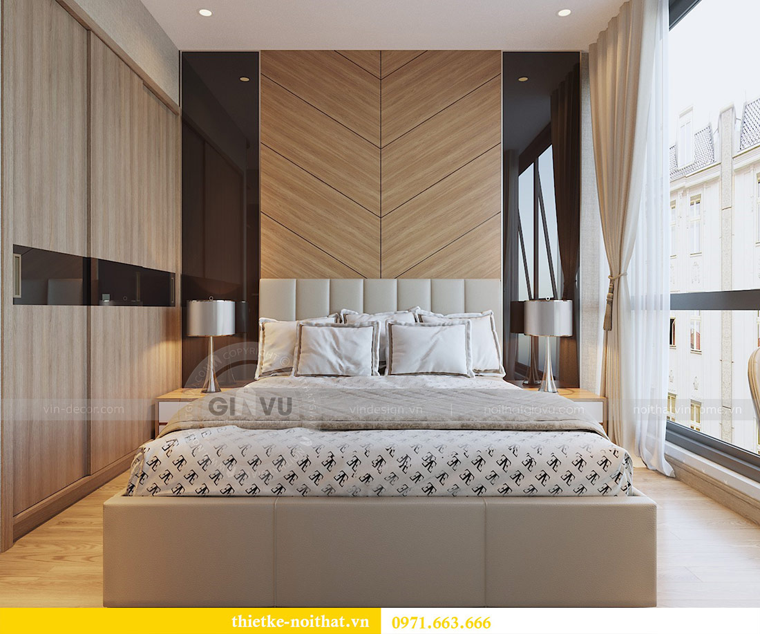 Thiết kế nội thất chung cư 74m2 tòa M3 căn 01 Vinhomes Metropolis 5