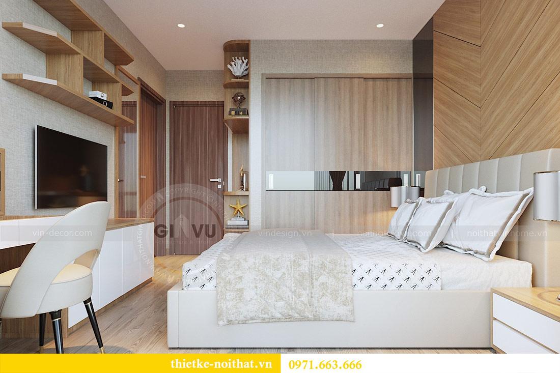 Thiết kế nội thất chung cư 74m2 tòa M3 căn 01 Vinhomes Metropolis 6