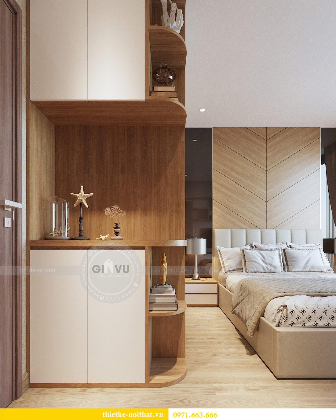 Thiết kế nội thất chung cư 74m2 tòa M3 căn 01 Vinhomes Metropolis 7