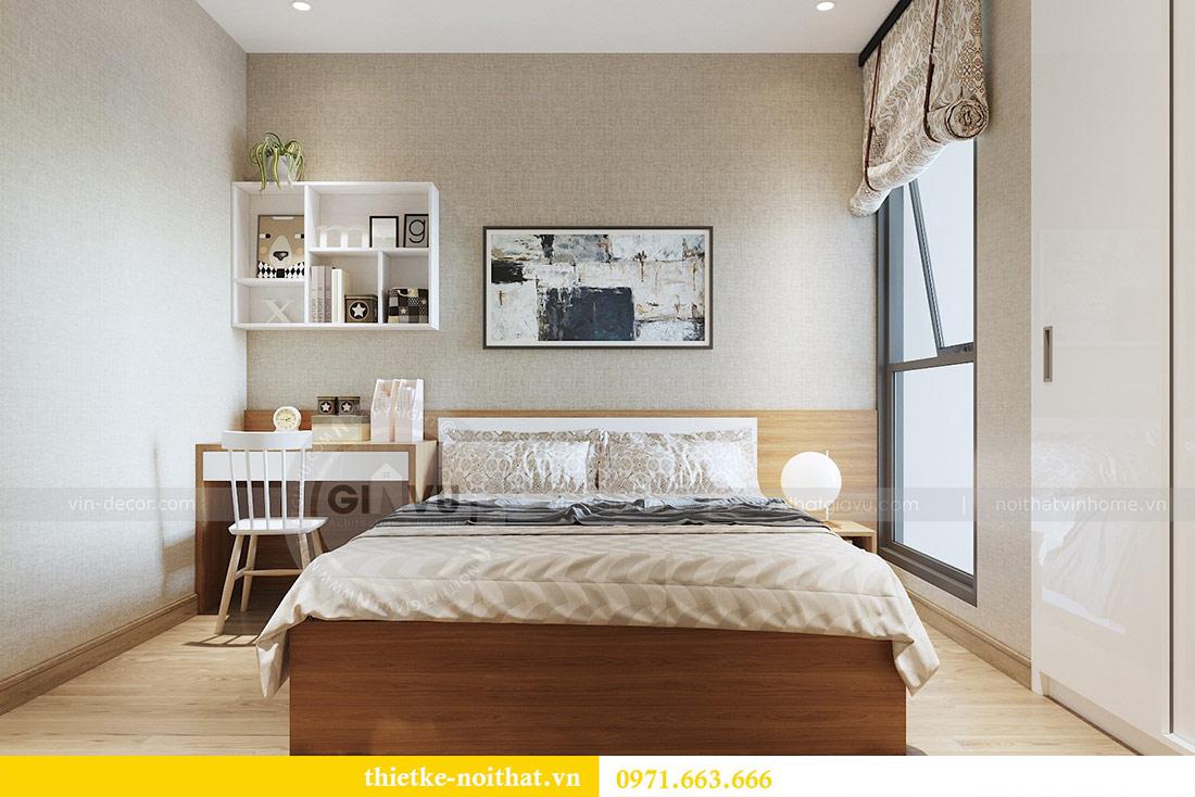 Thiết kế nội thất chung cư 74m2 tòa M3 căn 01 Vinhomes Metropolis 8
