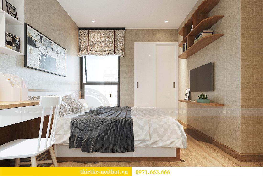 Thiết kế nội thất chung cư 74m2 tòa M3 căn 01 Vinhomes Metropolis 9