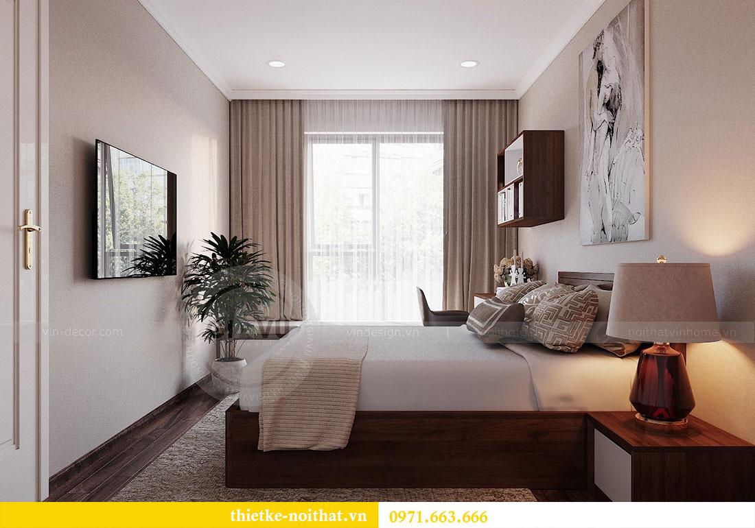 Thiết kế nội thất chung cư Dcapitale 122m2 - chị Hạnh 11
