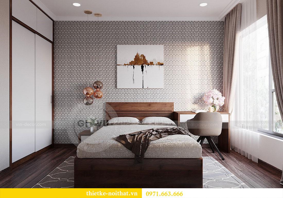 Thiết kế nội thất chung cư Dcapitale 122m2 - chị Hạnh 12