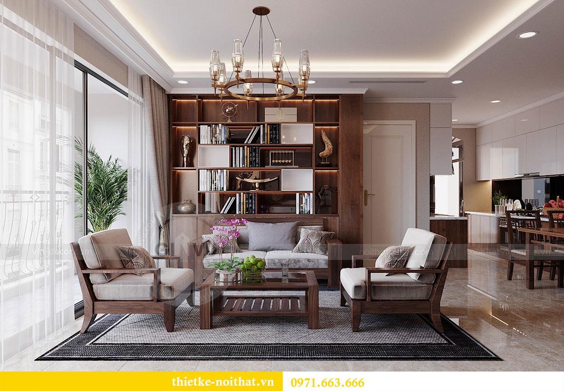 Thiết kế nội thất chung cư Dcapitale 122m2 - chị Hạnh 5