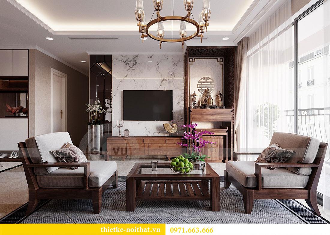Thiết kế nội thất chung cư Dcapitale 122m2 - chị Hạnh 6