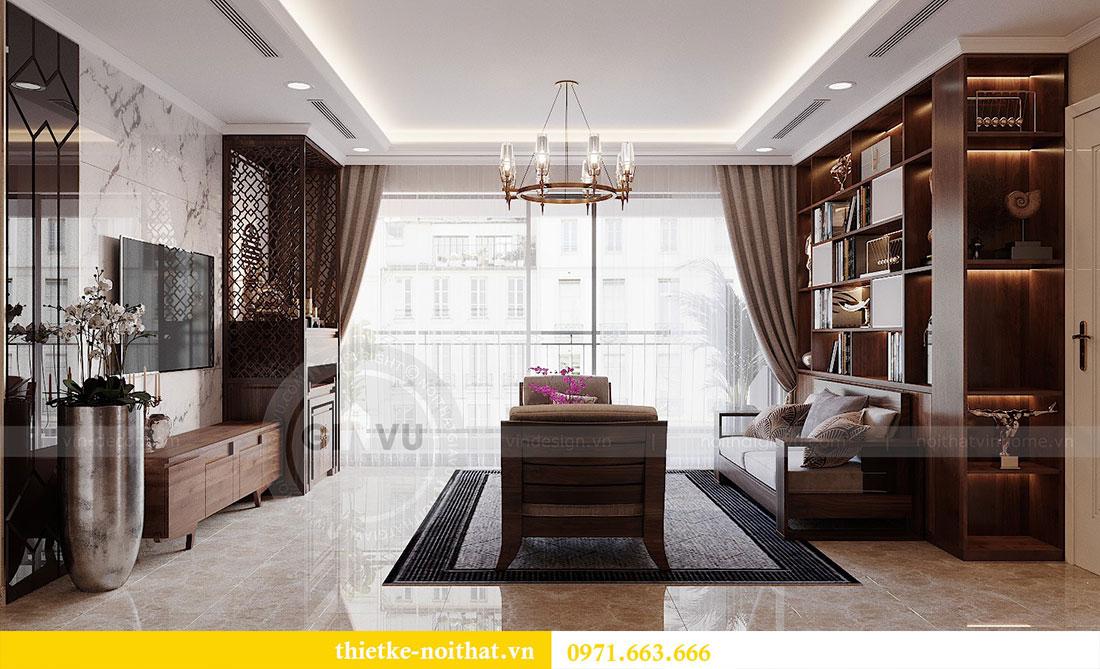 Thiết kế nội thất chung cư Dcapitale 122m2 - chị Hạnh 7