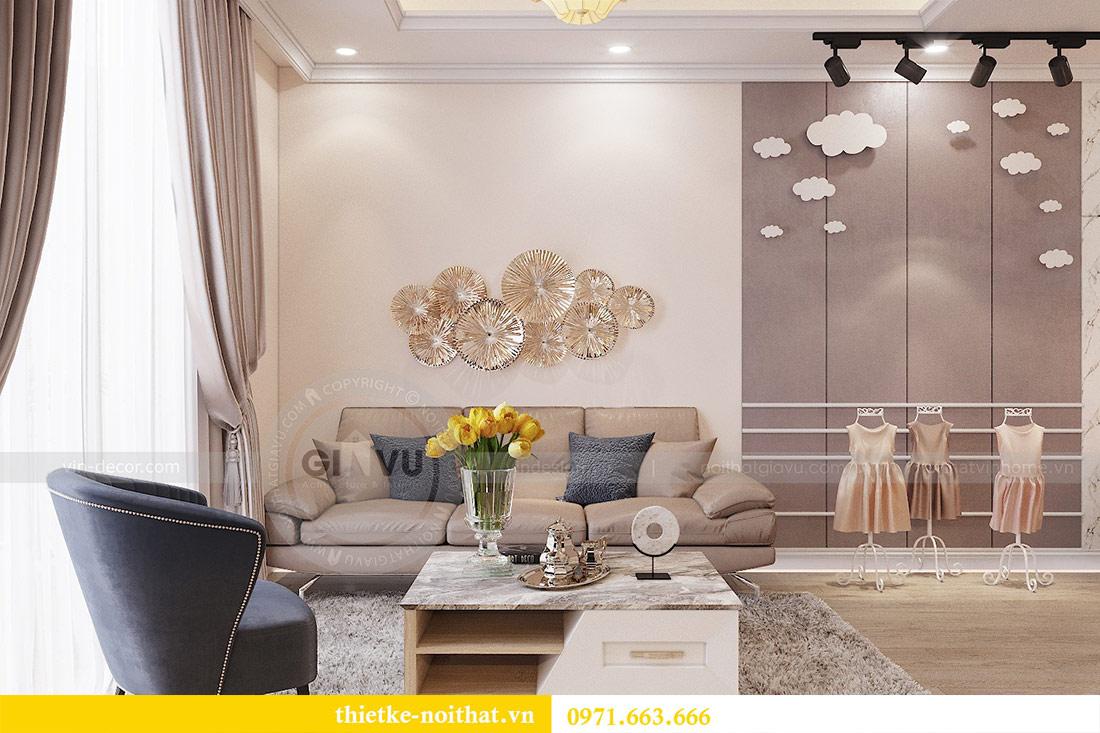 Thiết kế nội thất chung cư Park Hill 10 căn 02 - anh Tâm 1