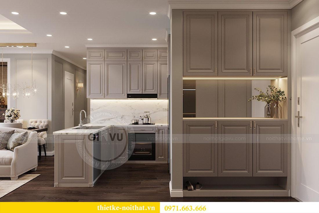 Thiết kế thi công căn hộ chung cư Dcapitale tòa C1 căn 10 - chị Nguyệt 1
