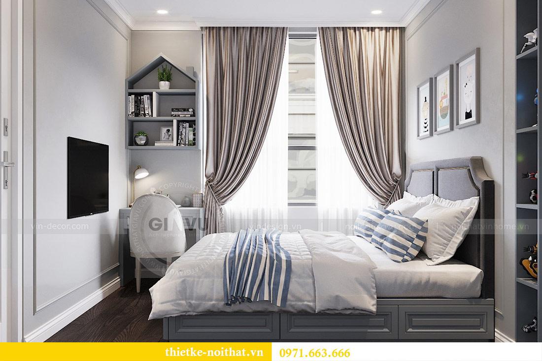 Thiết kế thi công căn hộ chung cư Dcapitale tòa C1 căn 10 - chị Nguyệt 10