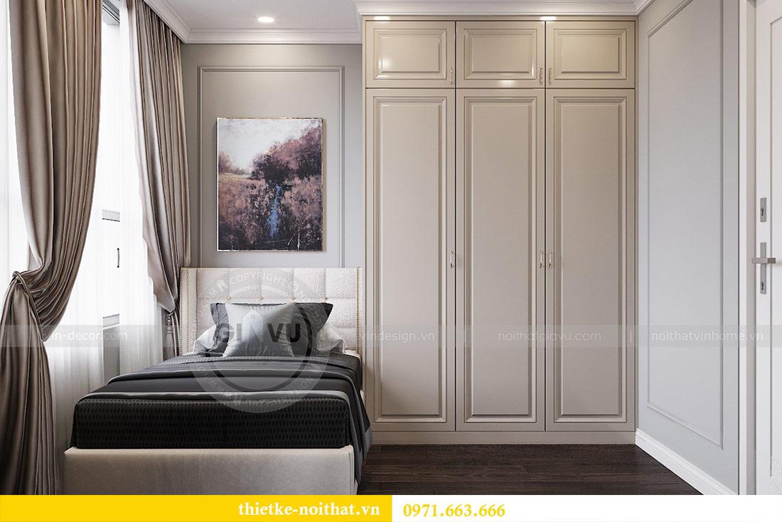 Thiết kế thi công căn hộ chung cư Dcapitale tòa C1 căn 10 - chị Nguyệt 11
