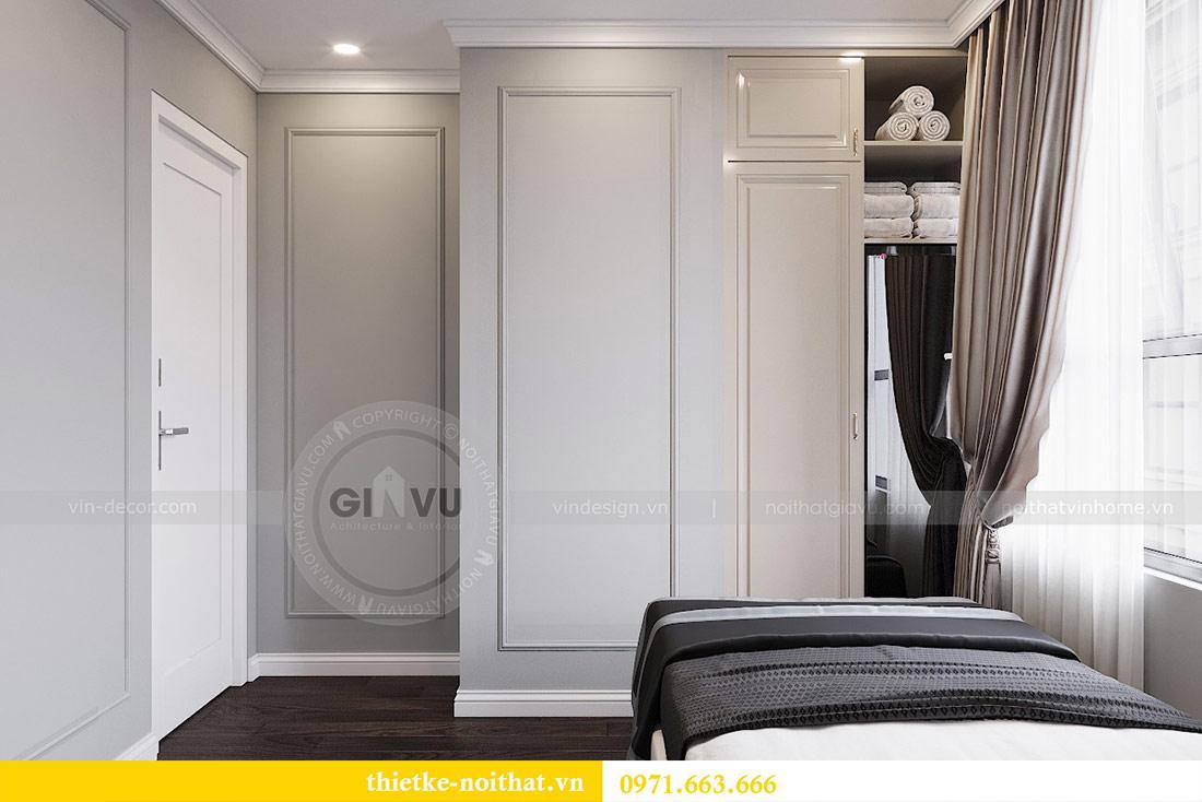 Thiết kế thi công căn hộ chung cư Dcapitale tòa C1 căn 10 - chị Nguyệt 12