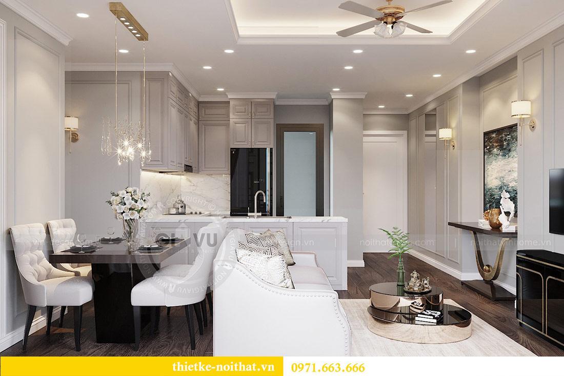 Thiết kế thi công căn hộ chung cư Dcapitale tòa C1 căn 10 - chị Nguyệt 4