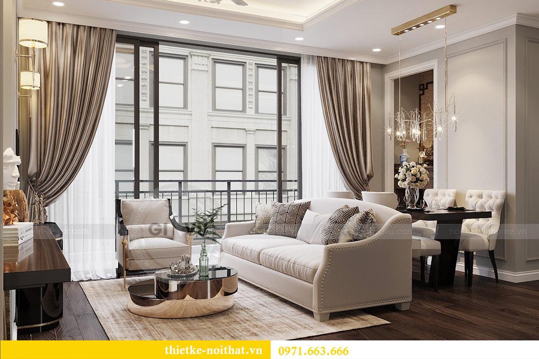 Thiết kế thi công căn hộ chung cư Dcapitale tòa C1 căn 10 - chị Nguyệt 5