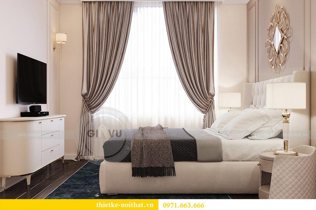 Thiết kế thi công căn hộ chung cư Dcapitale tòa C1 căn 10 - chị Nguyệt 7