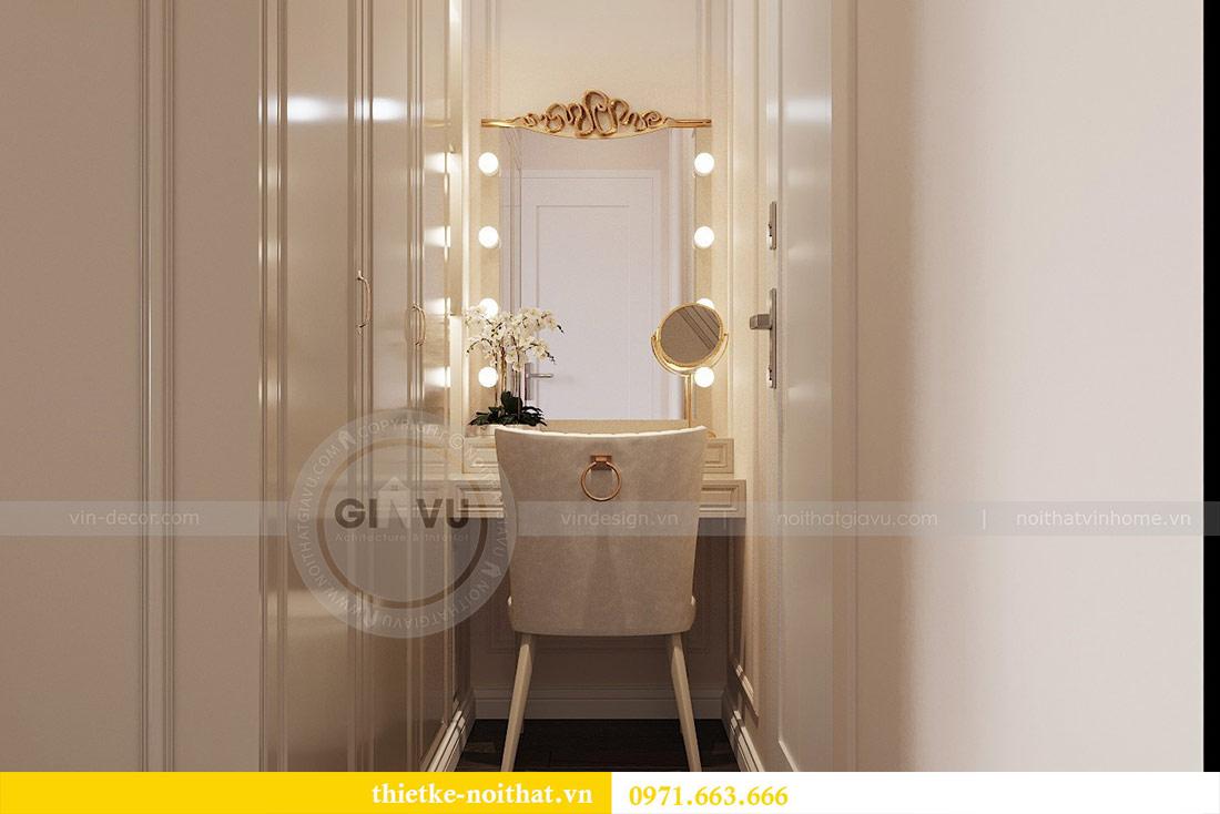 Thiết kế thi công căn hộ chung cư Dcapitale tòa C1 căn 10 - chị Nguyệt 8