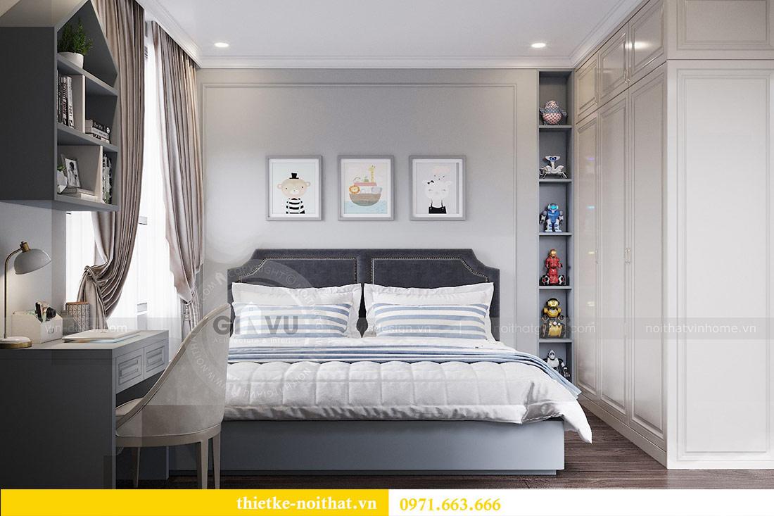 Thiết kế thi công căn hộ chung cư Dcapitale tòa C1 căn 10 - chị Nguyệt 9
