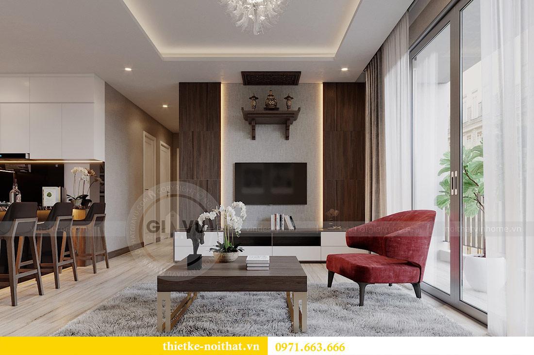 Mẫu thiết kế nội thất chung cư đẹp phong cách hiện đại 6