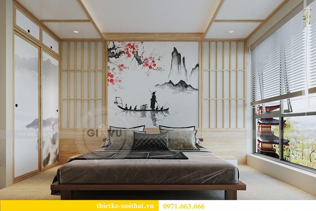 Mẫu thiết kế nội thất chung cư đẹp phong cách Nhật Bản 3