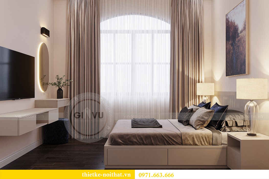 Thiết kế nội thất biệt thự Paris Vinhomes Imperia Hải Phòng - chị Thu 17