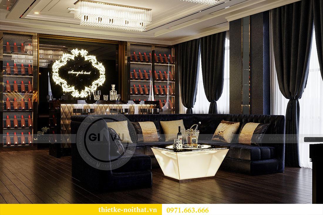 Thiết kế nội thất biệt thự Paris Vinhomes Imperia Hải Phòng - chị Thu 21