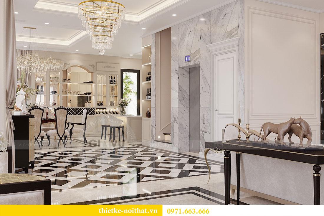 Thiết kế nội thất biệt thự Paris Vinhomes Imperia Hải Phòng - chị Thu 5