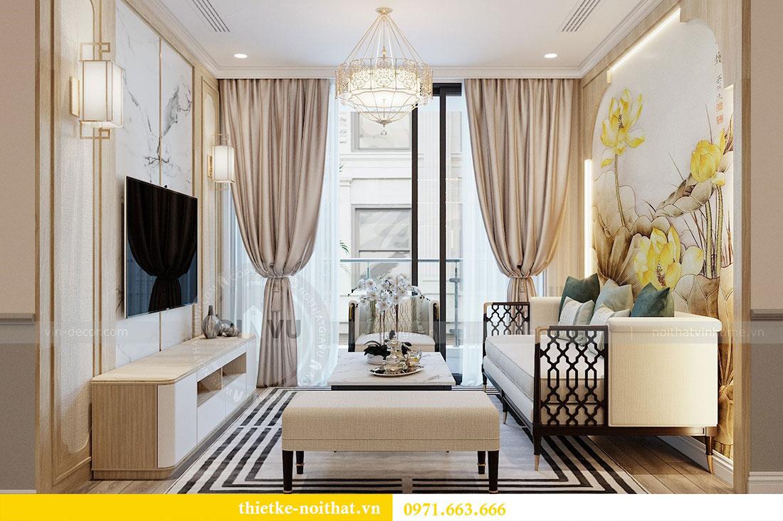 Thiết kế nội thất căn hộ cao cấp Skylake Phạm Hùng - anh Thanh 2