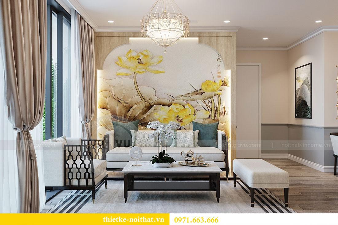 Thiết kế nội thất căn hộ cao cấp Skylake Phạm Hùng - anh Thanh 3