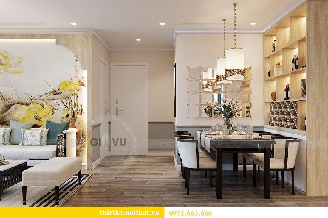 Thiết kế nội thất căn hộ cao cấp Skylake Phạm Hùng - anh Thanh 6
