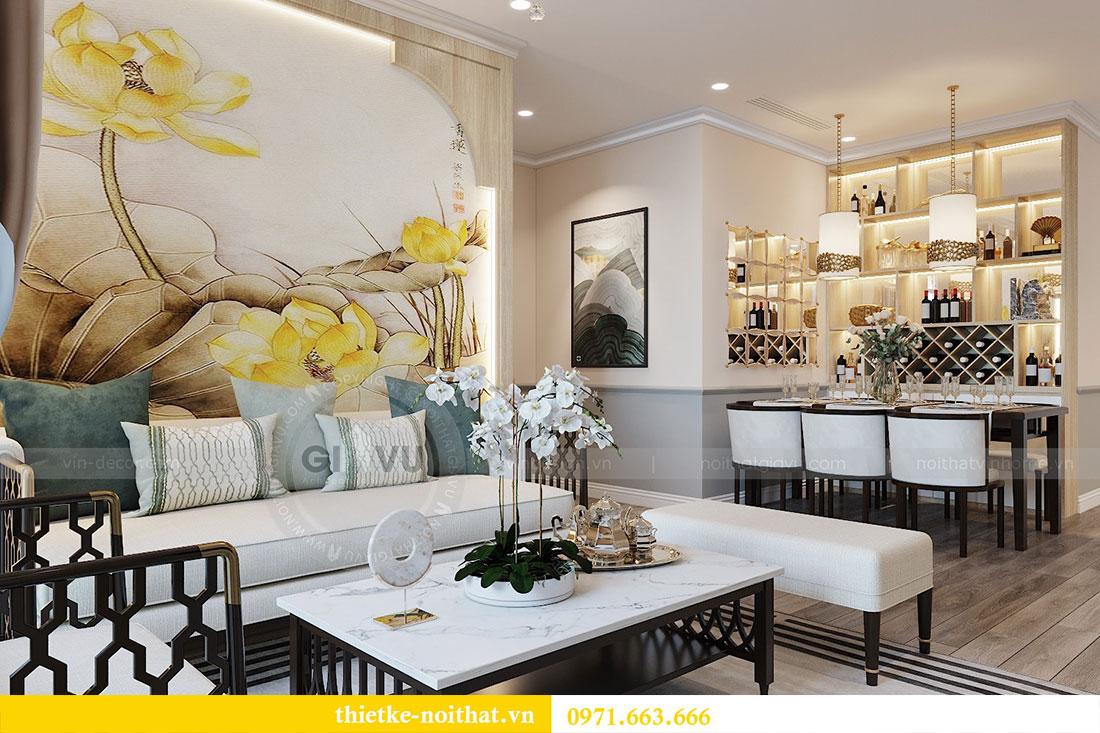 Thiết kế nội thất căn hộ cao cấp Skylake Phạm Hùng - anh Thanh 7