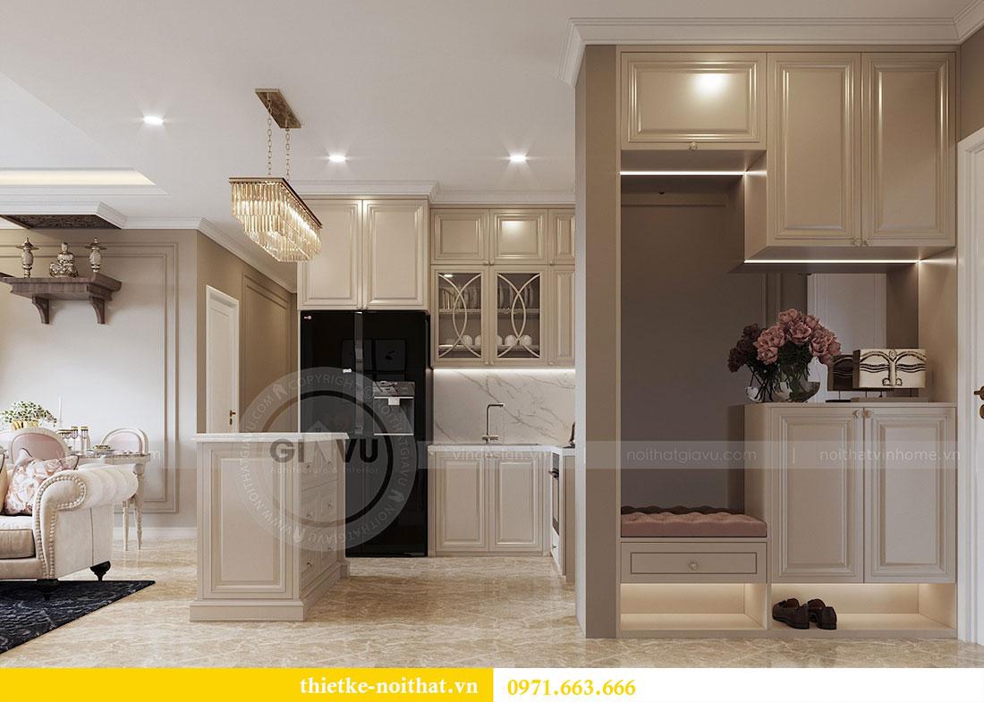 Thiết kế nội thất căn hộ chung cư Dcapitale - anh Tân 1
