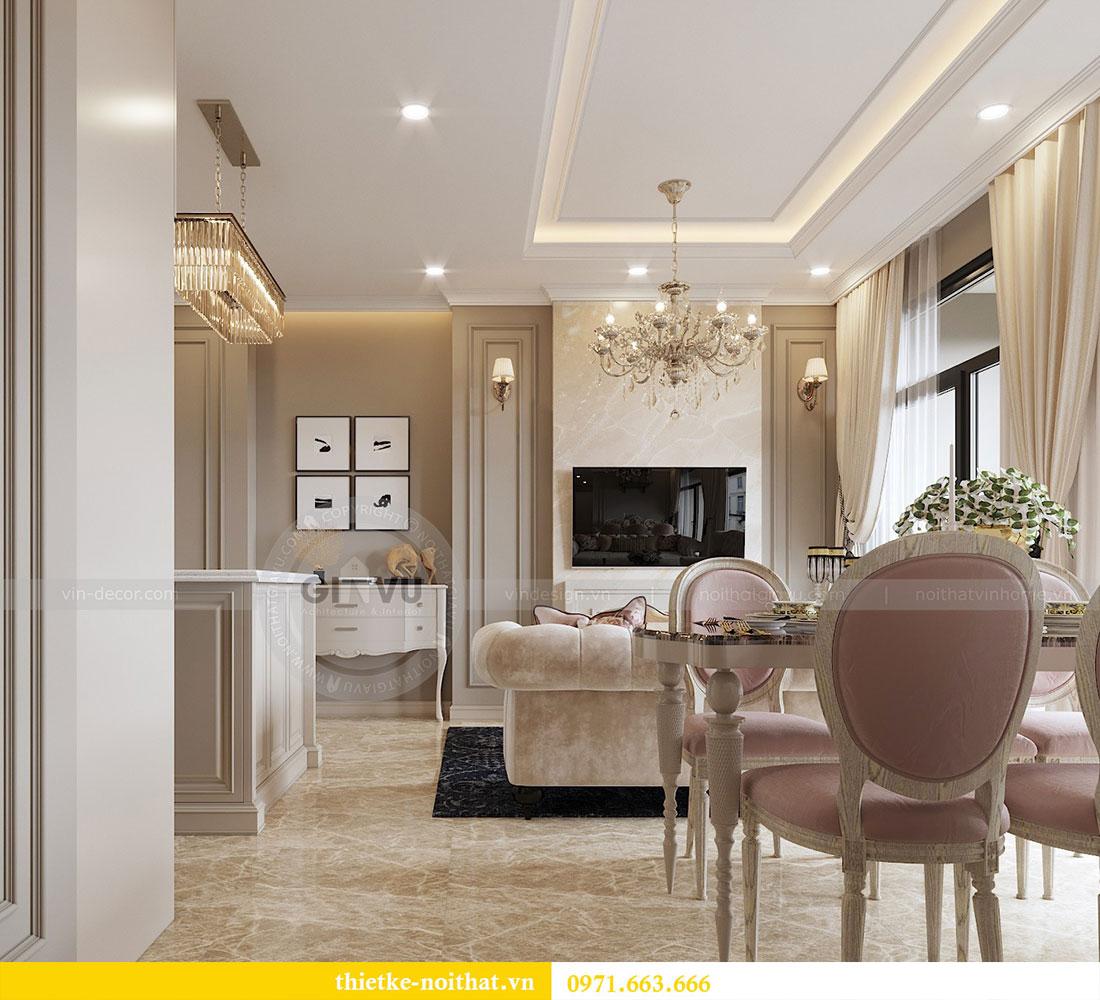 Thiết kế nội thất căn hộ chung cư Dcapitale - anh Tân 5