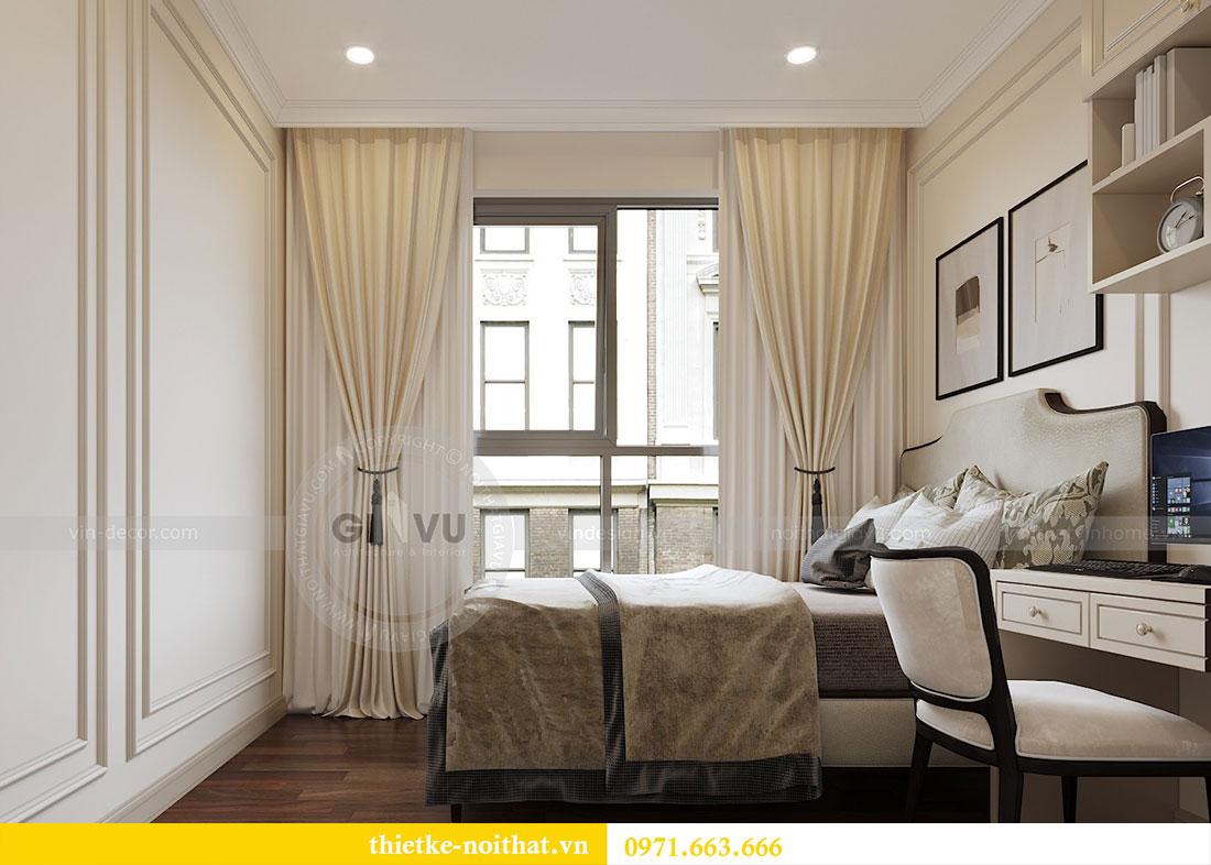 Thiết kế nội thất căn hộ chung cư Dcapitale - anh Tân 9