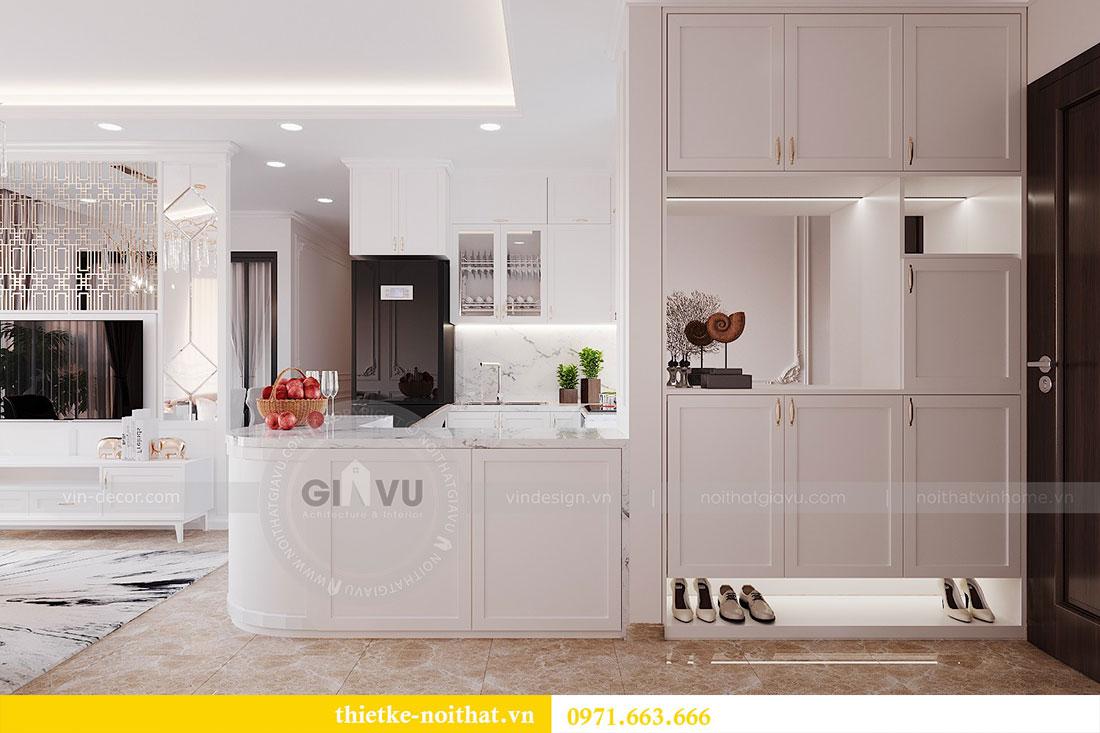 Thiết kế nội thất căn hộ Dcapitale tòa C6 căn 02 - anh Chiến 1
